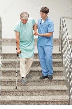 Лестница в больнице